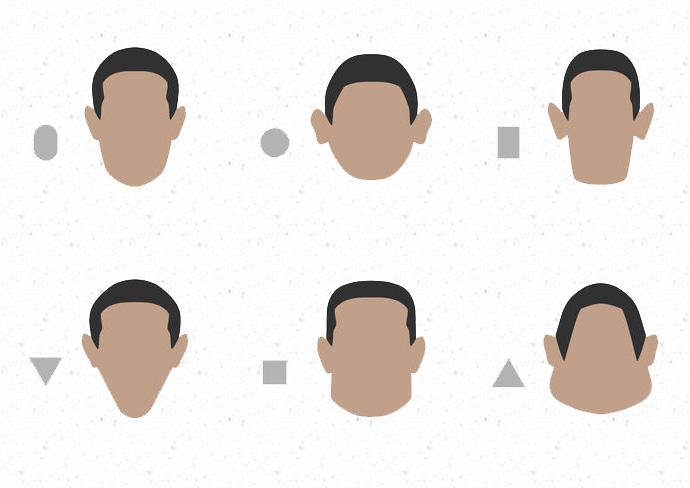 顔の輪郭によって 「似合う髪型とタブーな髪型」がある!