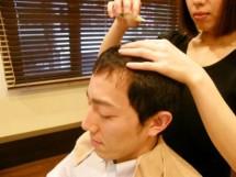 頭皮栄養剤の導入