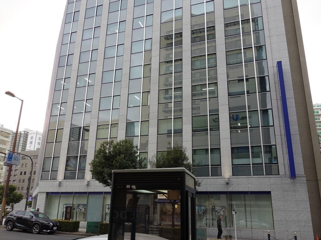 四ツ橋駅1-A出口 みずほ銀行前