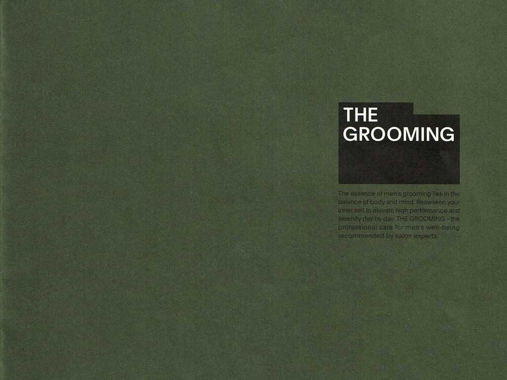 資生堂プロフェッショナル「the grooming」